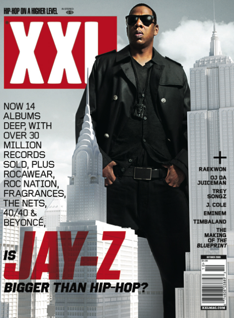 Jay-Z/October 2009 XXL Cover